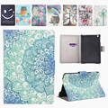 Painting PU Leather Slim Stand Case For Apple iPad mini Case Cover For iPad mini 1 2 3 7.9 inch Capa High Quality X96