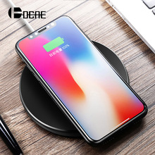 DCAE QI Wireless Charger For iPhone X 10 8 Samsung Note 8 S8 Plus S7 S6 Edge Phone Fast Charging Pad Quick Charge Smart USB Dock