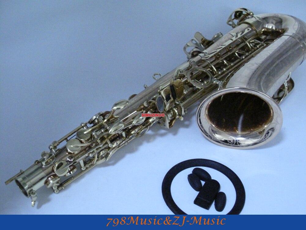 LORICO-602 SAXOPHONE ALTO Phosohor Bronze corps en cuivre et touches laquées or Eb Saxophone Alto haut F # accessoire LORICO gratuit