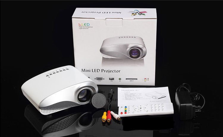 Usb animal picture more detailed picture about bright hd for Mini digital projector