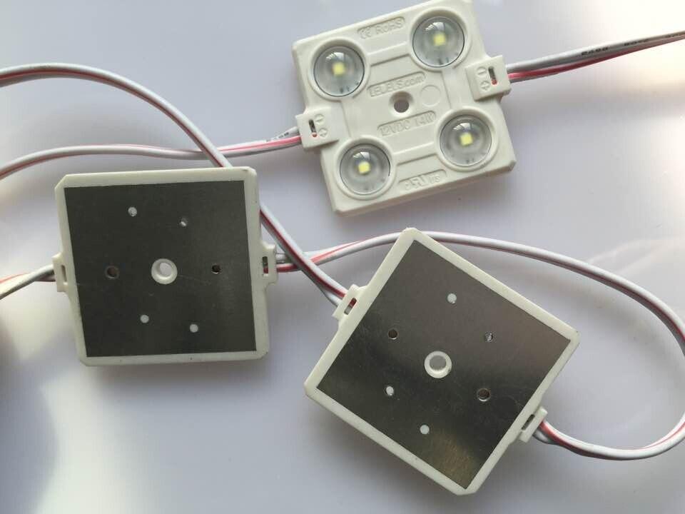 300 шт/партия 2835 4led модули для буквенные вывески UL одобренный светодиодный свет для вывесок коробки знаки, питание от Everlight