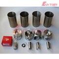Для TOYOTA forklift 2Z Ремонтный комплект поршень + кольцевая гильза цилиндра полная прокладка головки цилиндра