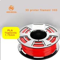 Mingda Pla 1.75Mm 3D Filament 1Kg Pla 3D Printer Filament Roll 3D Pla Plastic Printing 300 Meter Pla 20
