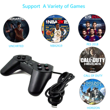 Wired USB PC Game Controller Gamepad For PC Computer Laptop For WinXP/Win7/Win8/