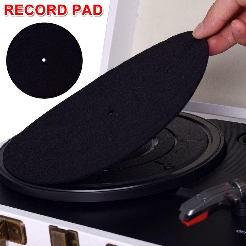 Able 1pcs Anti-static Turntable Record Player Mat Non-slip Phonographs Flat Soft Record Slipmat Bb55 Great Varieties