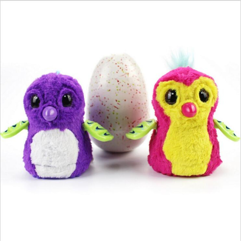 Surprise egg electronic pet hatching interactive toys surprise dinosaur egg glowing pet toys for children christmas gifts creative dinosaur egg interactive cute fantastic hatching egg with plush animal novelty gag toys growing dinosaur eggs