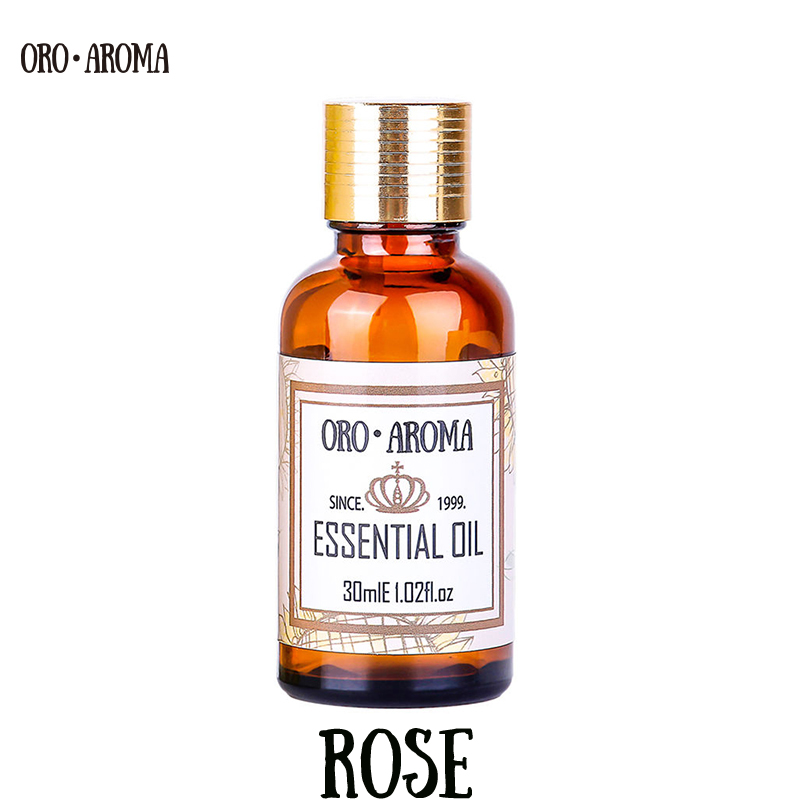 Famous Brand Oroaroma Natural Aromatherapy Rose Essential Oil Whitening Anti-aging Wrinkle Relax Pigmentation Rose Oil