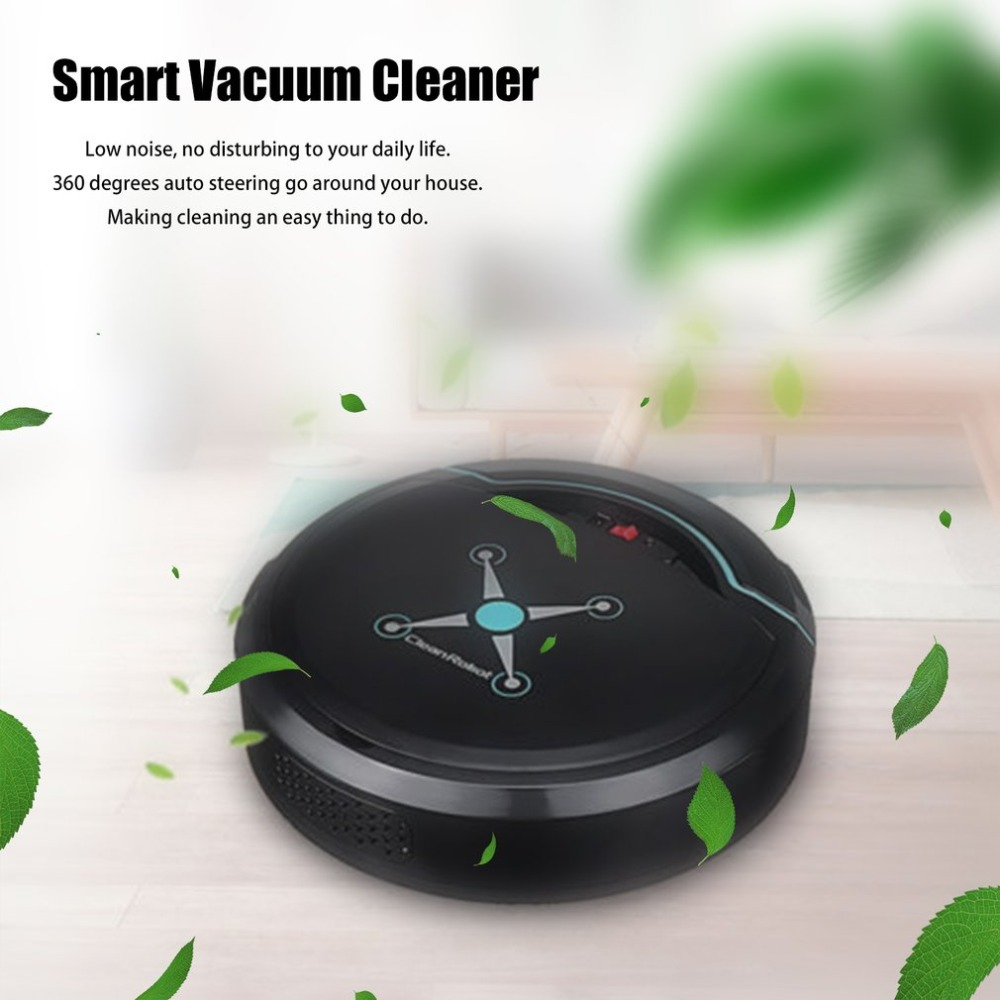 Rechargeable Auto Cleaning Robot Smart Sweeping Robot Floor Dirt Dust Hair Automatic Cleaner For Home Electric Vacuum Cleaners eworld abs material auto vacuum cleaners auto recharging vacuum cleaners floor cleaner with mop function and 0 6l dust tank