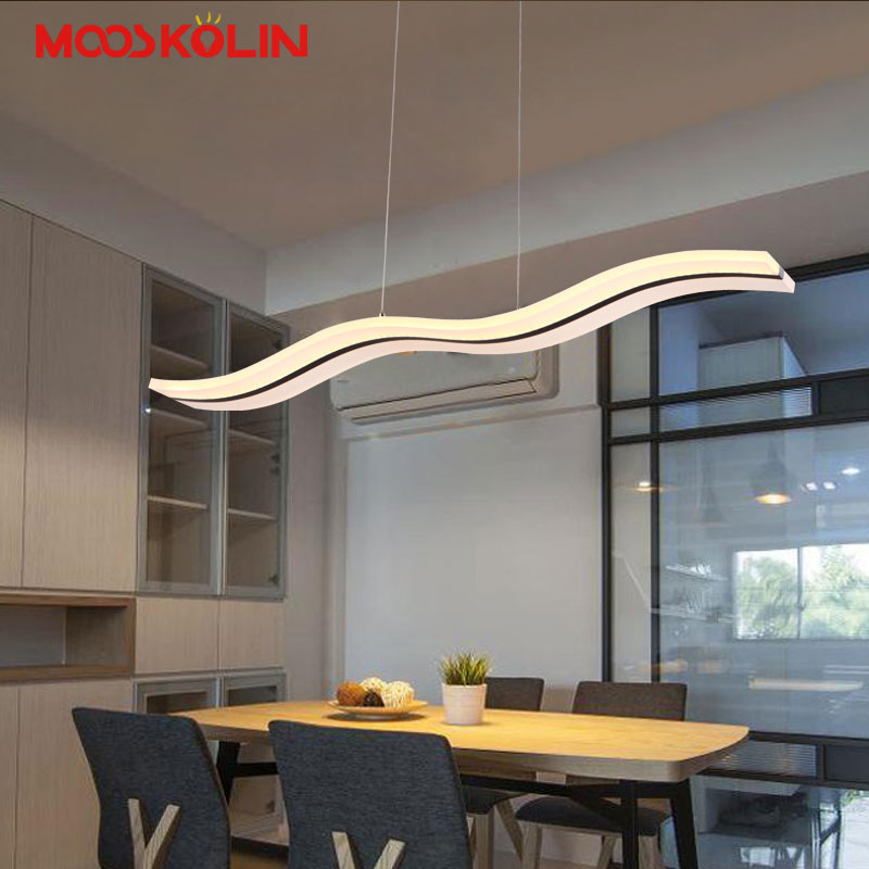 Modern Led Pendant Lights for Kitchen Dining Room White Pendant Lamp for Coffee House Bedroom Suspension Hanging Ceiling Lamp dining room led pendant lights suspendus lustre bar coffee modern led pendant indoor lighting for kitchen restaurants room lamp