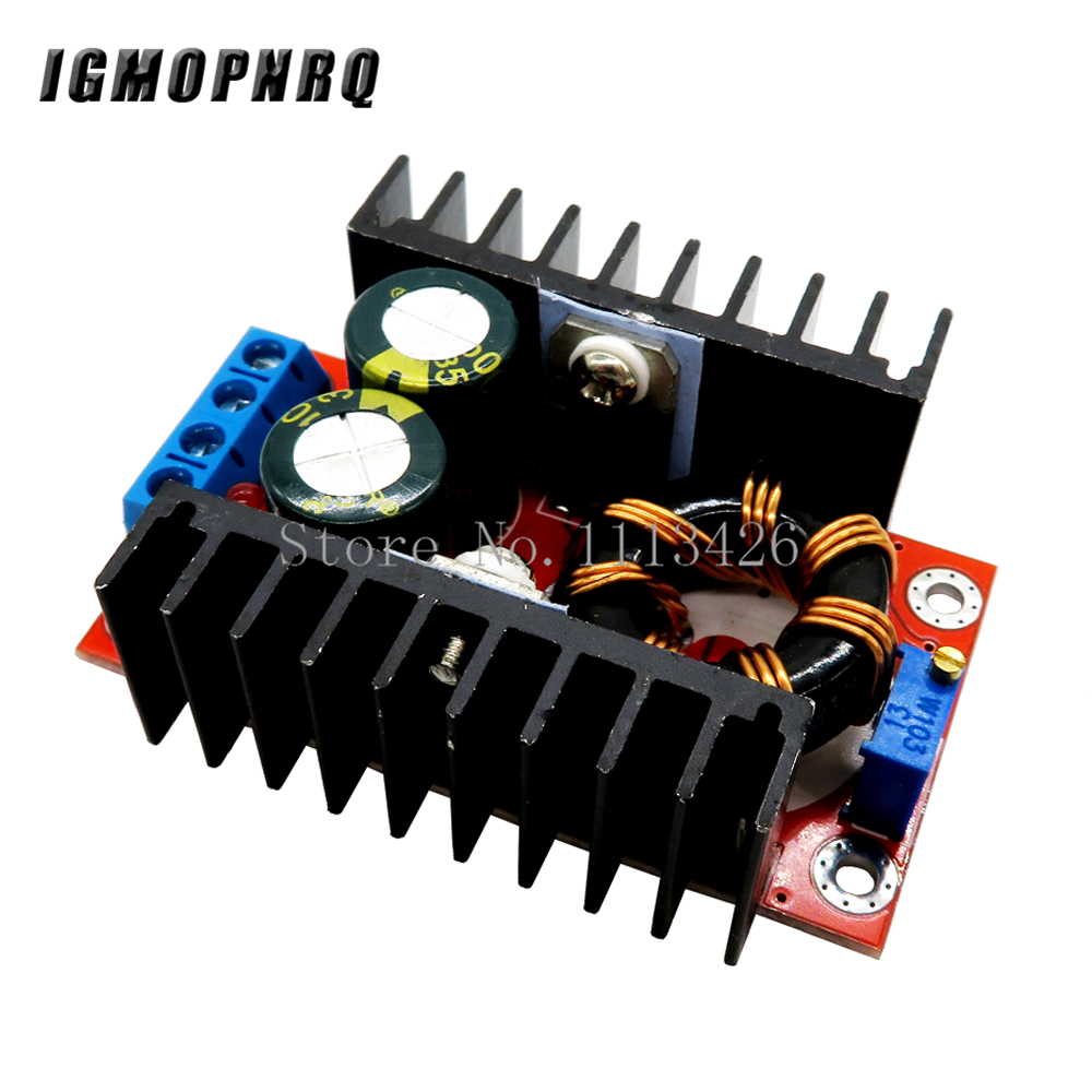 1PCS 150W Boost Converter DC-DC 10-32V To 12-35V Step Up Voltage Charger Module