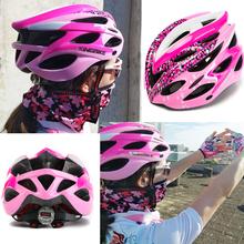 KINGBIKE kolarstwo różowy kask z tylne światło rower Ultralight kobiety kask intergraly-formowane górska droga rowerowa MTB kaski tanie tanio (Dorośli) kobiety J-629 250g 20 Lekki kask cycling helmet Bike Helmet Bicycle Helmet pink bicycle helmet High density EPS foam +PVC