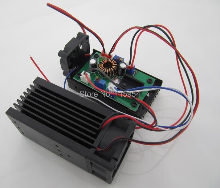 PRAVO NOVO 3500mw / 3.5w 445 modra oderna luč RGB laserski modul / - Komercialna razsvetljava - Fotografija 3