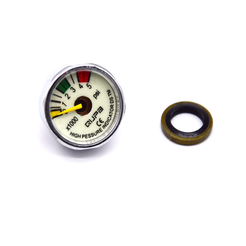 NEW PCP Airforce MINI Gauge Scuba Diving Manometer 40MPA/300BAR/400BAR/5000PSI/6000PSI