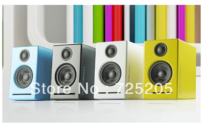 2.0 HIFI Bluetooth Speaker Bluetooth 3.0 Wooden Cabinet Lossless Power Adapter Smartlink Technology 2 X 20W Muliti-color Option