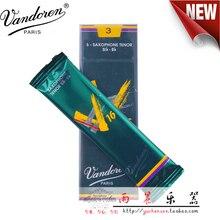 ฝรั่งเศส Vandoren V16 Tenor Sax Reeds กล่อง 5 ชิ้น/แซ็กโซโฟน Tenor BB Reeds 2.5 #, 3 #,