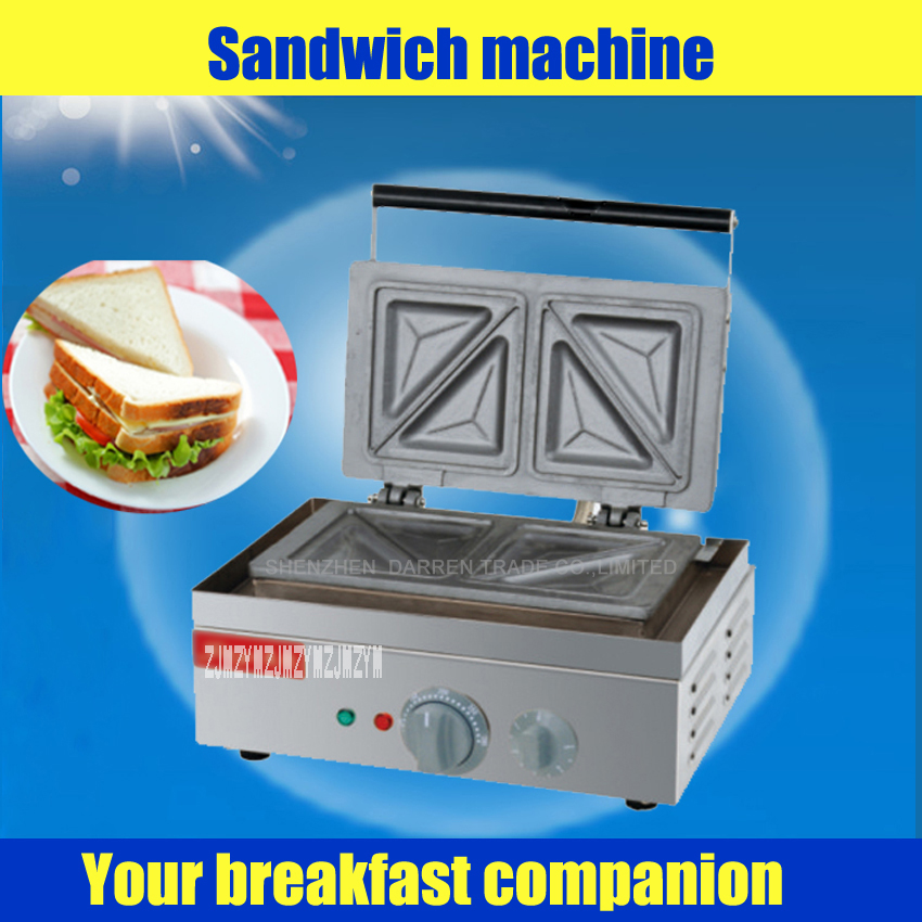 1 pc fy 113 electric sandwich maker sandwich oven sandwich. Black Bedroom Furniture Sets. Home Design Ideas