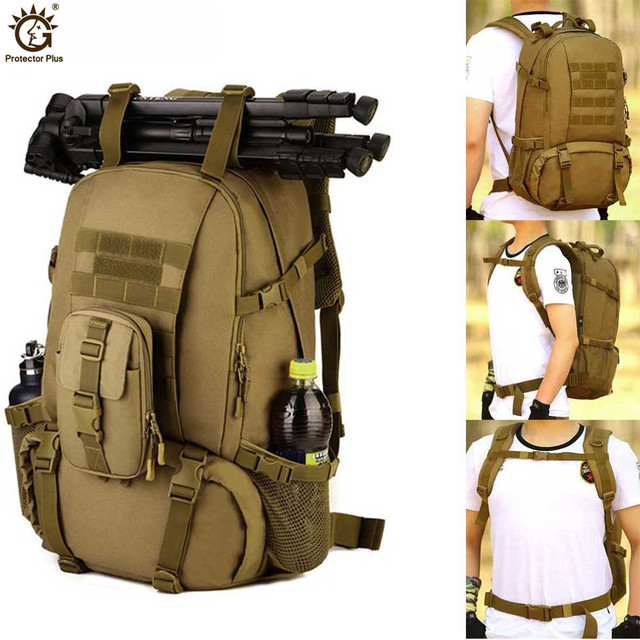 40L Outdoor Sport Military Tactical climbing mountaineering Backpack Camping Hiking Trekking Rucksack Travel outdoor Bag