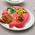 New Meal Measure 1 Portion Control Plate Manage Weight Loss Diet PlaTool Kitchen Food Plate Goplus  KC24773