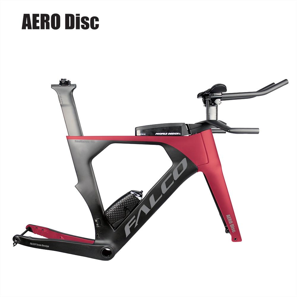 2019 AERO Carbon Triathlon Bike Carbon Flat Mount  BB386 With SGS TestedCarbon Time Trial Bicycle Frame TT915