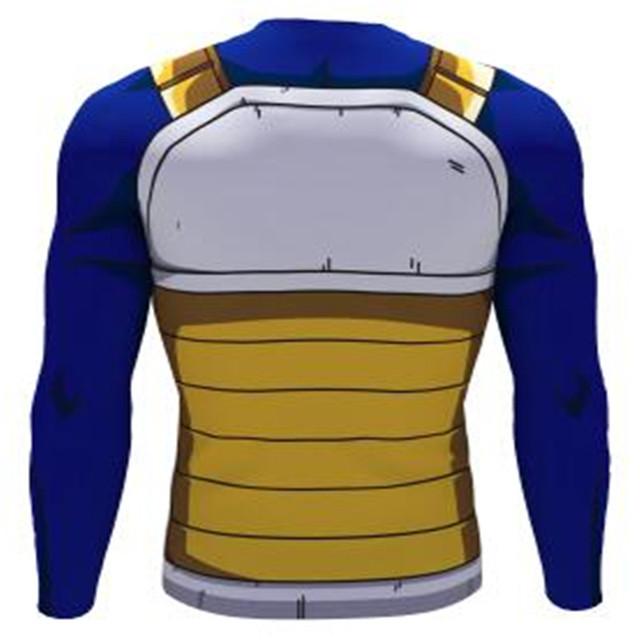 Dragon Ball Z Vegeta Long Sleeve Tshirts