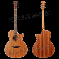 41 inch Acoustic/ Solid Paulownia top / Sapele back and sides/ AFANTI Acoustic guitar (AFA 900)