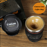 New Cup Automatic Coffee Mixing Cup Mug Lazy Self Strring Coffee Mugs Creative Stainless Steel Liner