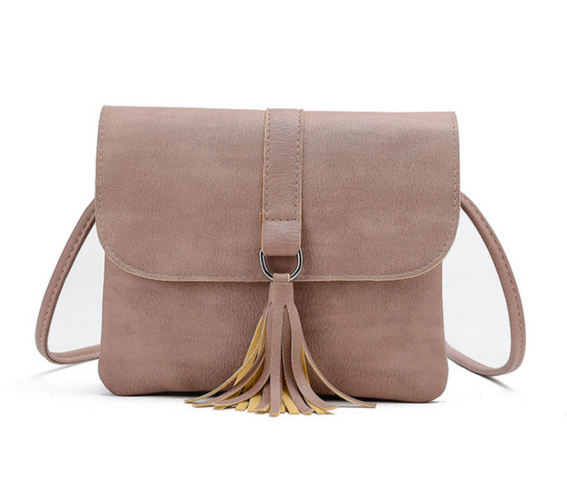 Hot Sale Tassel Women Bag PU Leather Handbags Crossbody Shoulder Bags Casual Messenger Bag  Small Bag for Girls Bolsas Femininas hot sale 2017 vintage cute small handbags pu leather women famous brand mini bags crossbody bags clutch female messenger bags