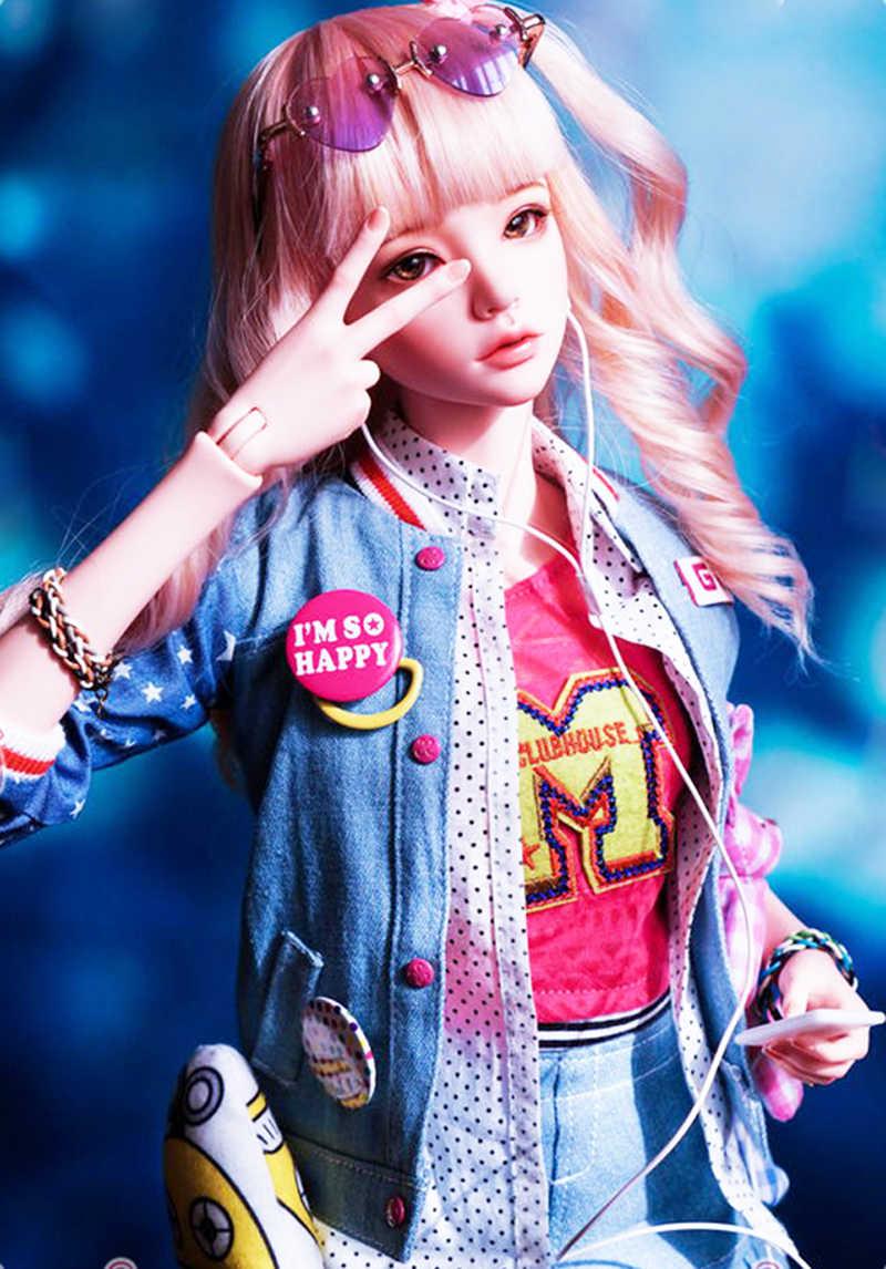 Новый стиль 1/4 BJD кукла BJD/SD Модная Кукла МР Марий с глазами для маленькой девочки на день рождения Рождество подарок на Новый год