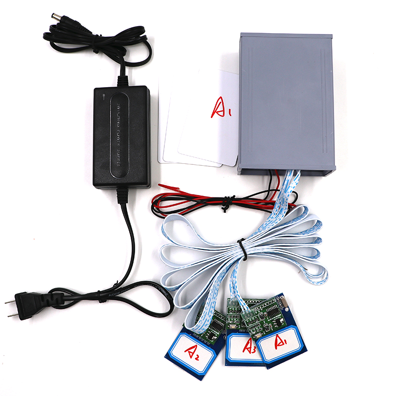 Room Escape Props 3 Rfid Reader,3 IC Card One to One to Unlock Chamber of Secrets Game Prop lm323k to 3