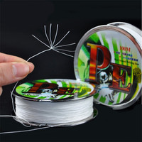Hight Quality 8 Strands Braide 100M Fishing Line PE Wire Strong Sinking Lines Pesca Peche The