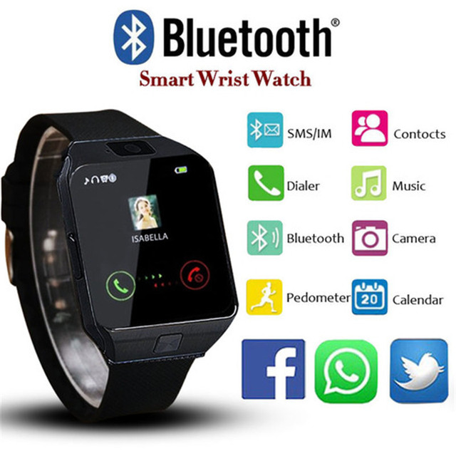 27484bef899008 Sports Watch Smart Watches Women Men Unisex DZ09 Smartwatch Support SIM TF  Card For Android Phone