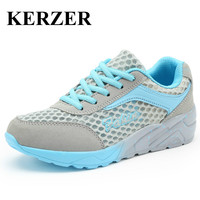 Hot 2017 Designer Sport Sneakers For Woman Breathable Running Shoes Ladies Summer Light Athletic Shoes Walking Trainers Cheap