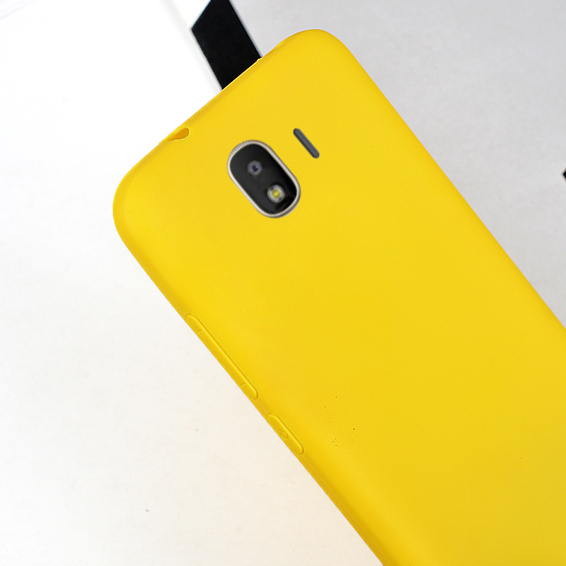 release date: 3a21b 65019 US $1.99 |Yellow Matte Silicone Case for Samsung Galaxy J3 J4 J6 J7 DUO Max  Plus J2 Pro 2018 Candy Solid Cover Soft TPU Phone Cases-in Fitted Cases ...
