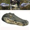 Schwimm Krokodil Kopf Teich Pool Wasser Garten Dekorationen Hohe Qualität Schwimm Harz Krokodil Kopf Für Ornament Dropshipping-in Arche des Bundes aus Heim und Garten bei