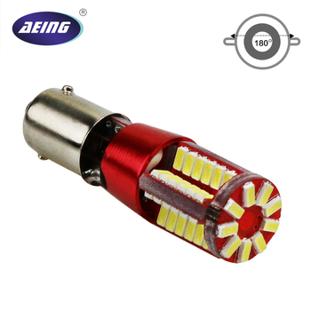 AEING 1 piece T11 T4W W6W H6W BA9S 3014 57SMD Canbus LED Error Free Led Wedge Door Read Light Lamp Bulb Xenon White Red Blue 4pcs car bulb canbus error free ba9s t4w h6w led white 4014 24smd 4 8w led automotive light lamp 12v parking 57 233 w6w t11