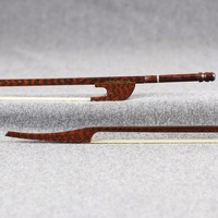 Master Snakewood Long Bass Viol Bow 835MM Richard Marais Model Copy