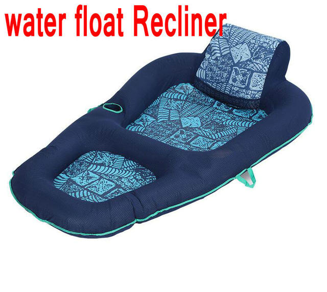 Adult water floating row swimming leisure floating bed adult rafting recliner PVC inflatable recliner single  sc 1 st  AliExpress.com & Aliexpress.com : Buy Adult water floating row swimming leisure ... islam-shia.org