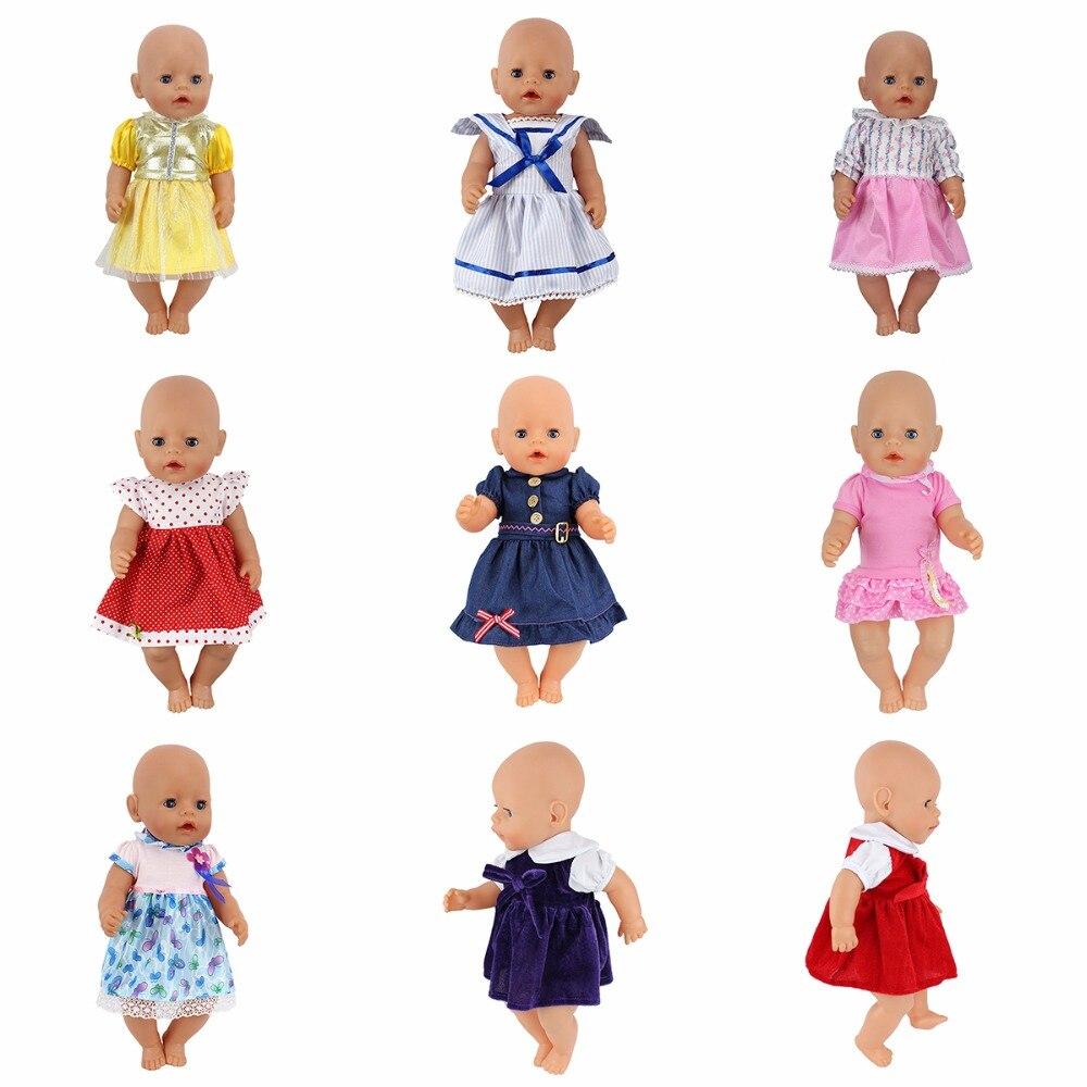 12style jumpsuits Doll dress  Wear fit 43cm Baby Born zapf, Children best  Birthday Gift meired grid jumpsuit hat wear fit 43cm baby born zapf children best birthday gift only sell clothes