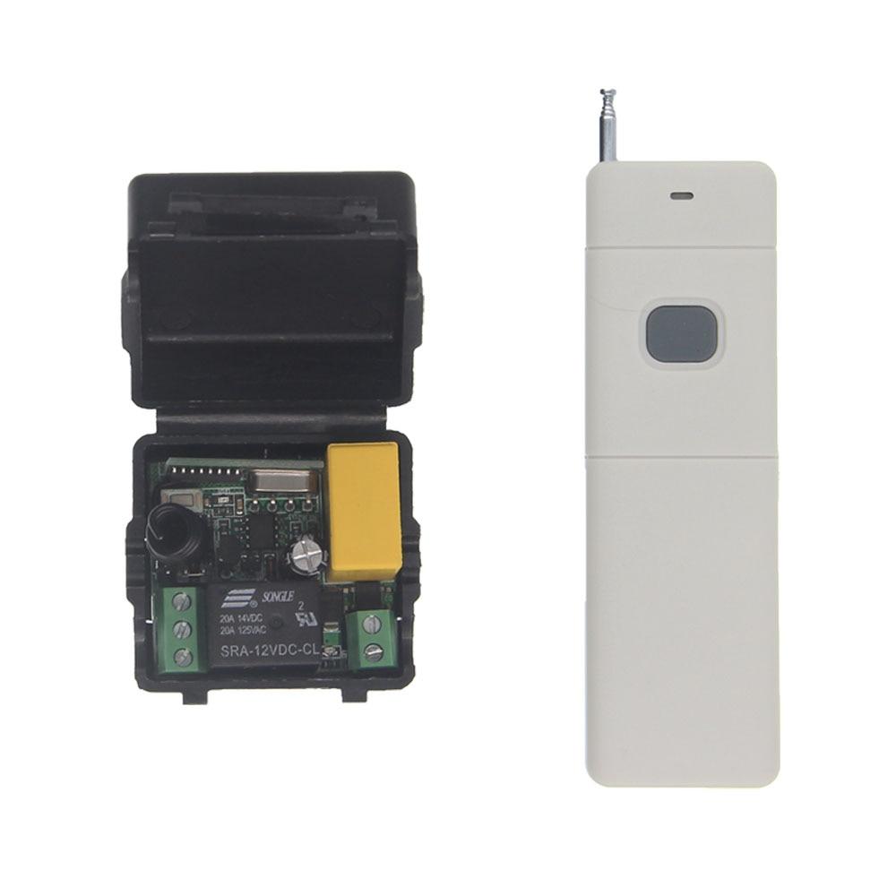 3000 м междугородние мини-Размеры AC 220 В 1ch 1ch 10A rf Беспроводной Дистанционное управление переключатель Системы, приемник + передатчик, 315/433. 92