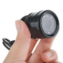Cámara de la puerta antirrobo espejo ojo cámara HD monitoreo visión micro sonda de ángulo de 120 grados