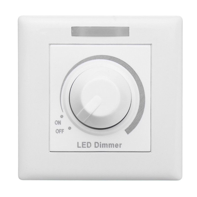 Wall Dimmer Switch LED Dimmer For Dimmable Light Lamp Bulb With 12 Keys IR Remote Control 110V/220V