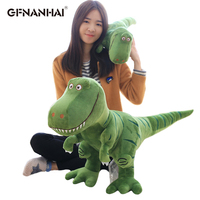 1pc 100cm Giant Size Tyrannosaurus Rex Plush toy Simulation Dinosaur Dolls Stuffed Toys for Children Boys Birthday Gift