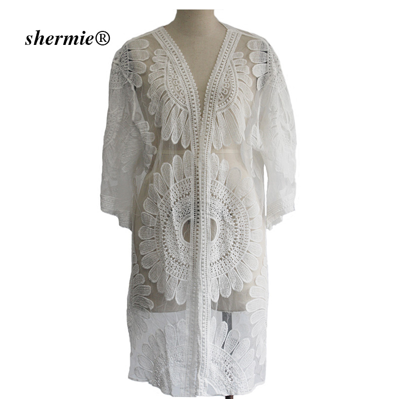 Sexy Sarongs Bikini Beach Tunic Crochet Beach Cover Up Bathing Suit Plus Size White Robe De Plage Swimsuit Women Cover-Ups pareo 8