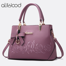 Aliwood Europe Fashion Women's Handbags Ladies' Leather Shoulder bag High Quality Messenger Bags Females Crossbody Bag with Bow