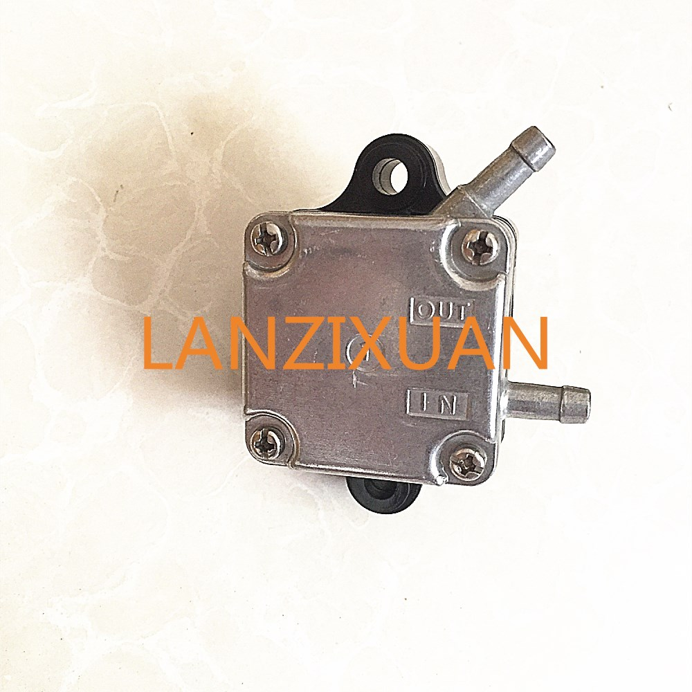 Outboard Motor 66M-24410-10-00 66M-24410-11-00 66M-24410 Fuel Pump for Yamaha 4-Stroke 9.9HP 15HP F15 F9.9, Free Shipping