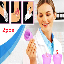 (s+l) alternative tampons cups vagina feminine hygiene menstrual medical lady cup