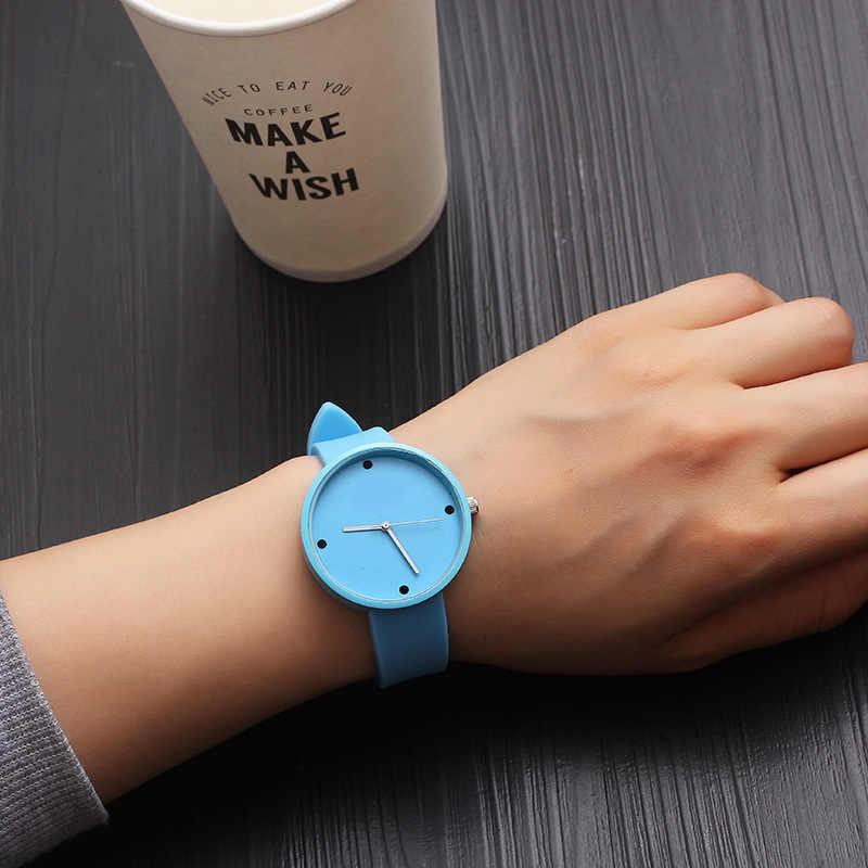 2018 מכירה לוהטת אופנה קריקטורה חמוד צבע קוורץ שעונים בני ילדה ילדי ילד שעון יד ילד שעון ילדי מתנות שחור ספוט