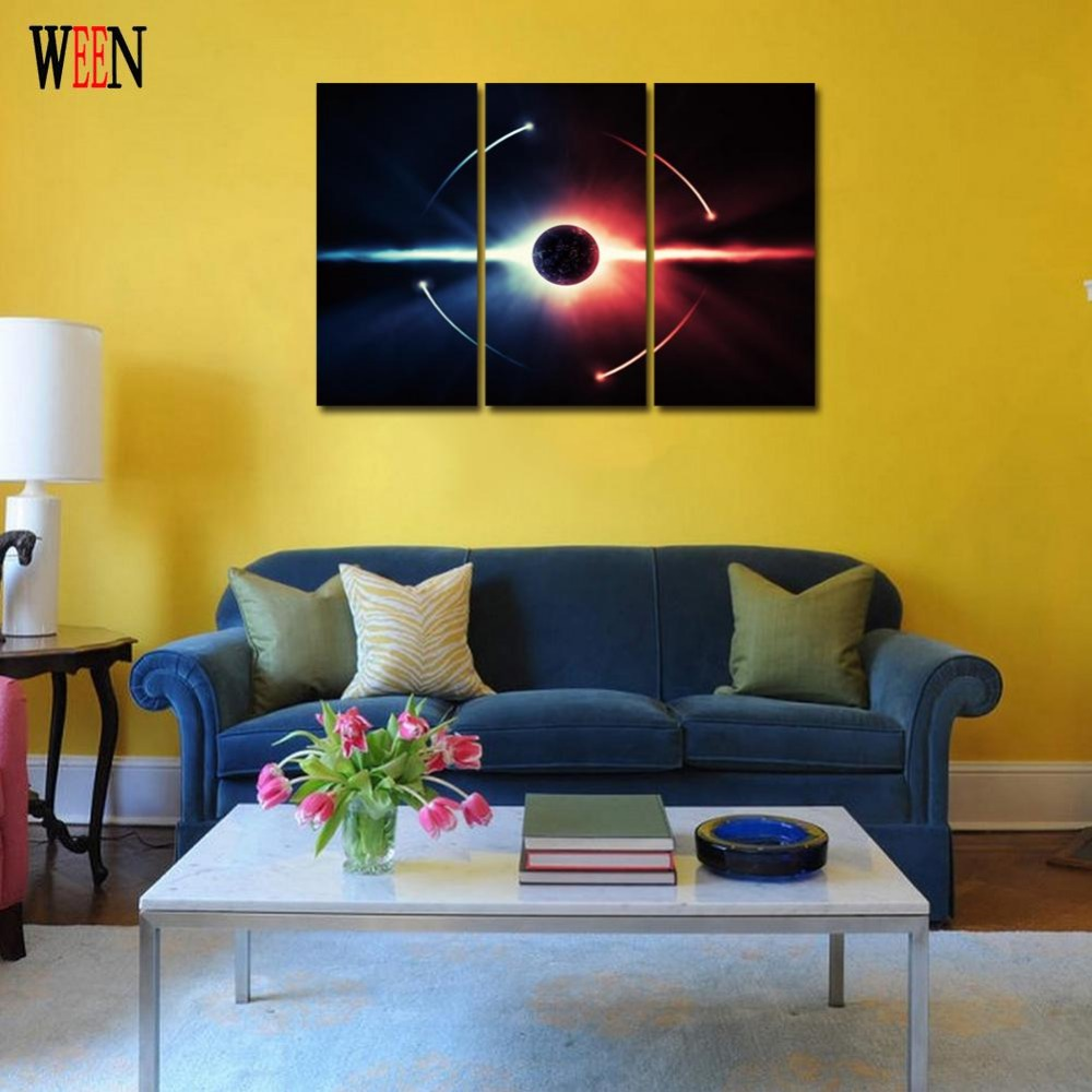 Magnificent 3pc Wall Art Contemporary - The Wall Art Decorations ...