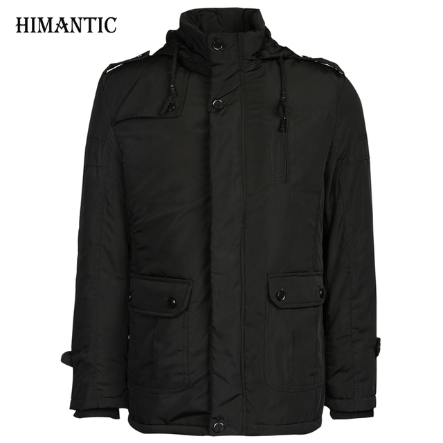 Brand New Winter Jacket Men Thickening Casual Cotton Jackets ...