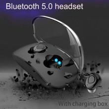 X18 TWS Wireless Headphones Bluetooth Earphones Handsfree Earbuds Bluetooth Headset Sports Earphone With Mic 2017 newest k6 business bluetooth earphone headphones stereo wireless handsfree car driver bluetooth headset with storage box